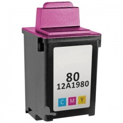 Lexmark No 80 colour