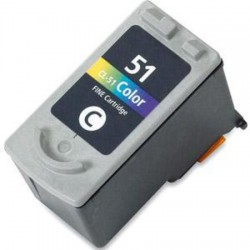 Canon CL-51 Colour - HY Fax JX-200 , 500 (δείχνει στάθμη)